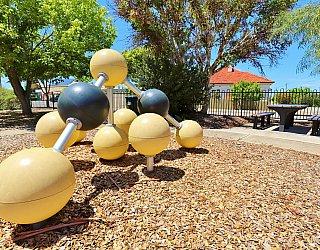 Elizabeth Ryan Reserve Playground Climbing Spheres 1