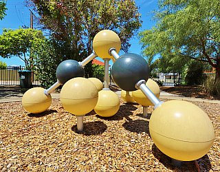 Elizabeth Ryan Reserve Playground Climbing Spheres 2