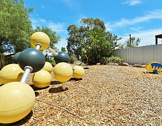 Elizabeth Ryan Reserve Playground Climbing Spheres 3