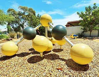 Elizabeth Ryan Reserve Playground Climbing Spheres 4