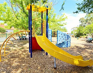 Elizabeth Ryan Reserve Playground Multistation 3