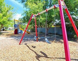 Elizabeth Ryan Reserve Playground Swings 1