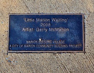 George Street Reserve Art Little Marion Plaque 1