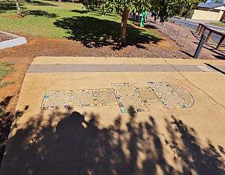George Street Reserve Art Mosaic Hopscotch 3