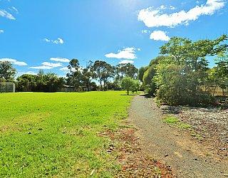 George Street Reserve Facilities Path 1