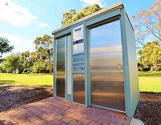 George Street Reserve Facilities Toilet 1