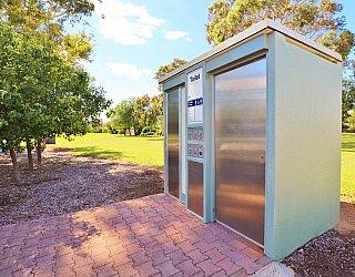 George Street Reserve Facilities Toilet 2