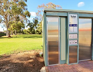 George Street Reserve Facilities Toilet 3