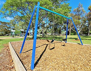 George Street Reserve Playground Swings 1