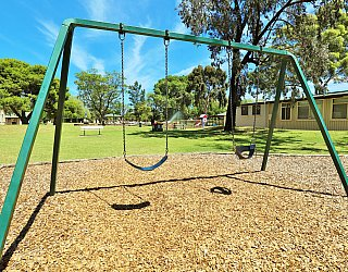 Glandore Community Centre Marie Gregan Playground Swings 1