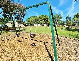 Glandore Community Centre Marie Gregan Playground Swings 2