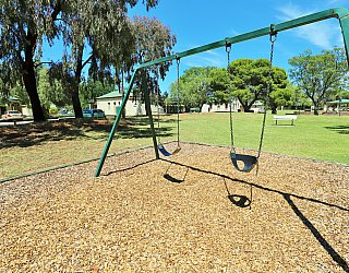 Glandore Community Centre Marie Gregan Playground Swings 3
