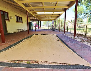 Glandore Community Centre Rugby Building Playground Sandpit 1