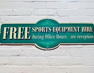 Glandore Community Centre Sports Equipment Hire 2