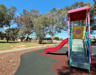 Graham Watts Reserve Playground Multistation Slide 1