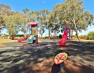 Graham Watts Reserve Playground Rocking Board 1