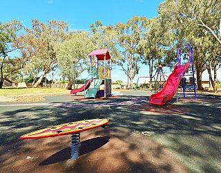 Graham Watts Reserve Playground Rocking Board 2