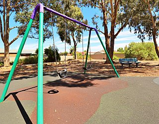 Graham Watts Reserve Playground Swings 1