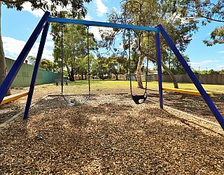 Hawkesbury Avenue Reserve Playground Swings 1