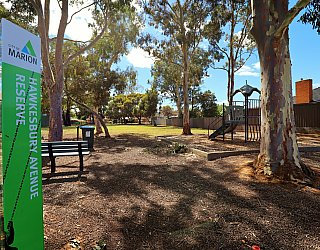 Hawkesbury Avenue Reserve Sign 2