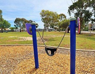 Mckay Street Reserve Playground Baby Swing 1