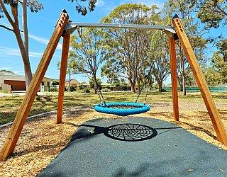 Mckellar Terrace Reserve Playground Basket Swing