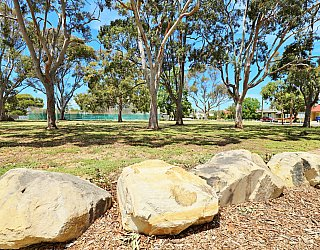 Mckellar Terrace Reserve Playground Rocks 1