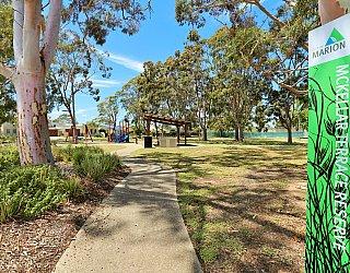 Mckellar Terrace Reserve Sign 1