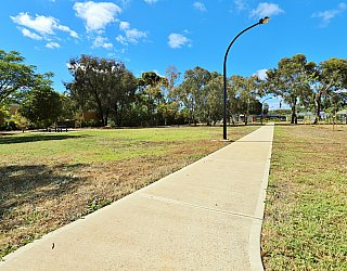 Myer Road Reserve Path 1