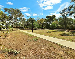 Myer Road Reserve Path 2