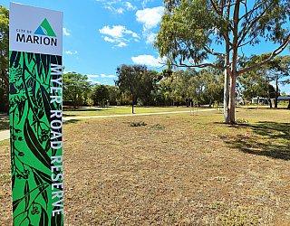 Myer Road Reserve Sign 2