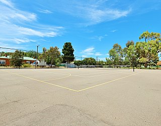 Rajah Street Reserve Sports Tennis Court 1