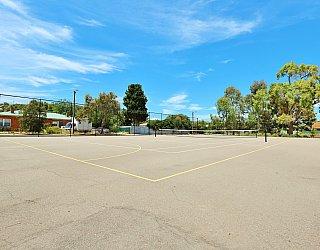 Rajah Street Reserve Sports Tennis Court 1