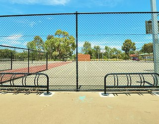 Rajah Street Reserve Facilities Cycle Stand 1
