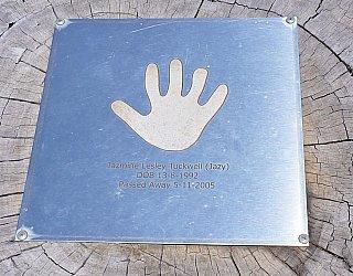 Rajah Street Reserve Memorial Jazmine Tuckwell