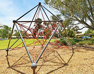 Rajah Street Reserve Playground Climbing Net 1