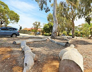 Rajah Street Reserve Playground Nature Play Logs 2