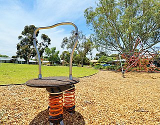 Rajah Street Reserve Playground Rodeo Board 1