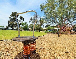 Rajah Street Reserve Playground Rodeo Board 1