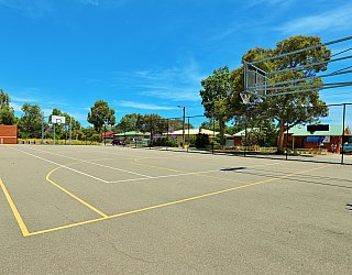 Rajah Street Reserve Sports Basketball 1