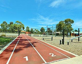 Rajah Street Reserve Sports Sprint Track 3