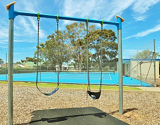 Stanley Street Reserve Playground Swings 1