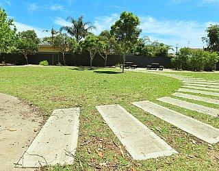 Yapinga Street Reserve Facilities Path 1