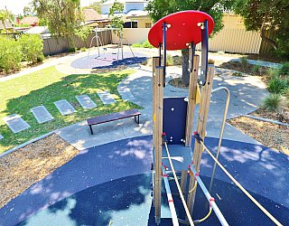 Yapinga Street Reserve Playground Multistation View 1