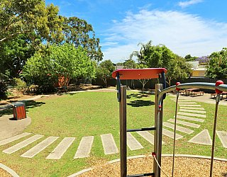 Yapinga Street Reserve Playground Multistation View 2