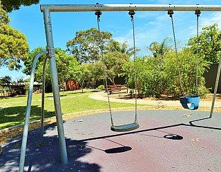 Yapinga Street Reserve Playground Swings 2