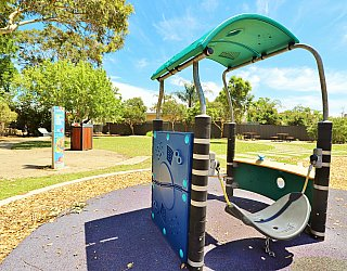 Yapinga Street Reserve Playground Toddler Swing 1