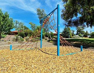 Eurelia Road Reserve Playground Climbing Net 1