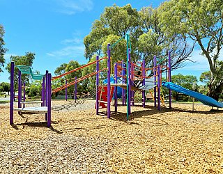 Eurelia Road Reserve Playground Multistation 1