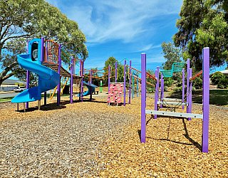 Eurelia Road Reserve Playground Multistation 2
